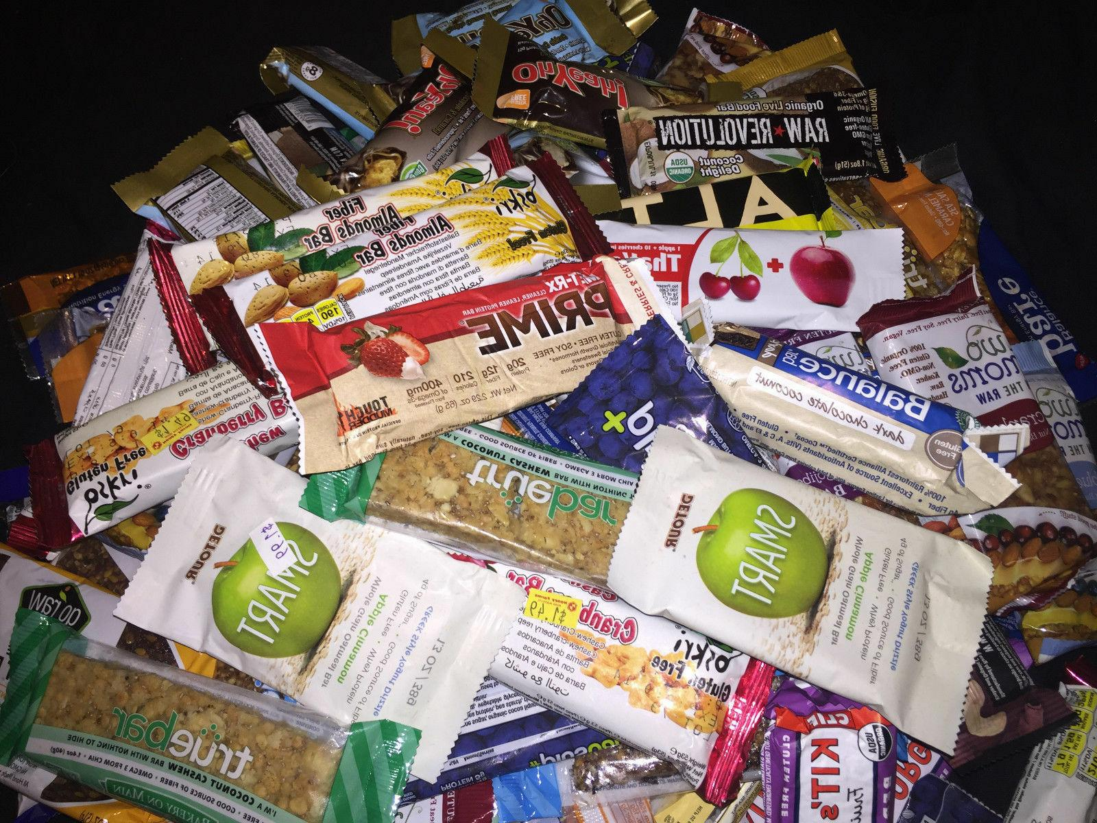 50 Assorted MIX ENERGY & Quest ATKINS