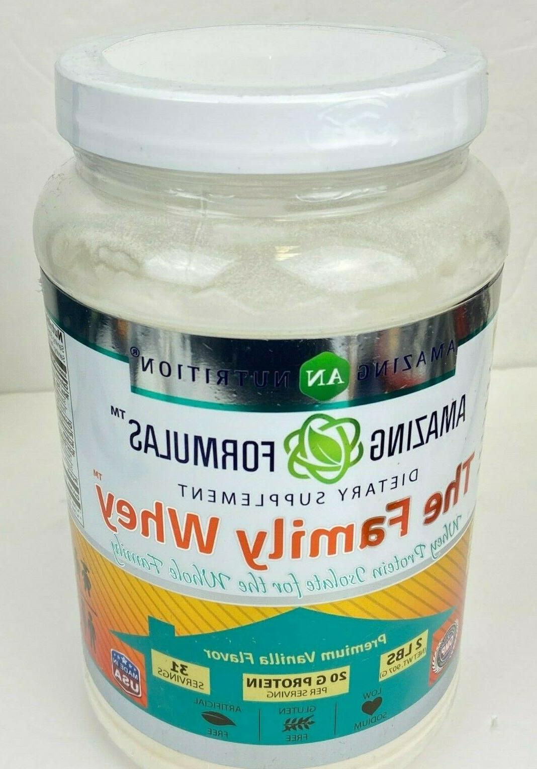 amazing formulas the family whey whey protein