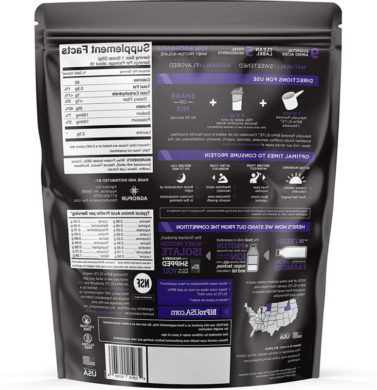 BiPro Isolate Chocolate 1 Certified