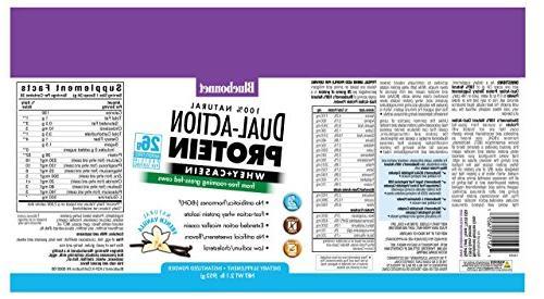 Bluebonnet Nutrition Dual Action Protein Powder Natural 2.1 lbs Powder