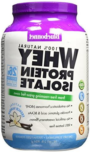 Bluebonnet Whey Protein Isolate Powder French LB