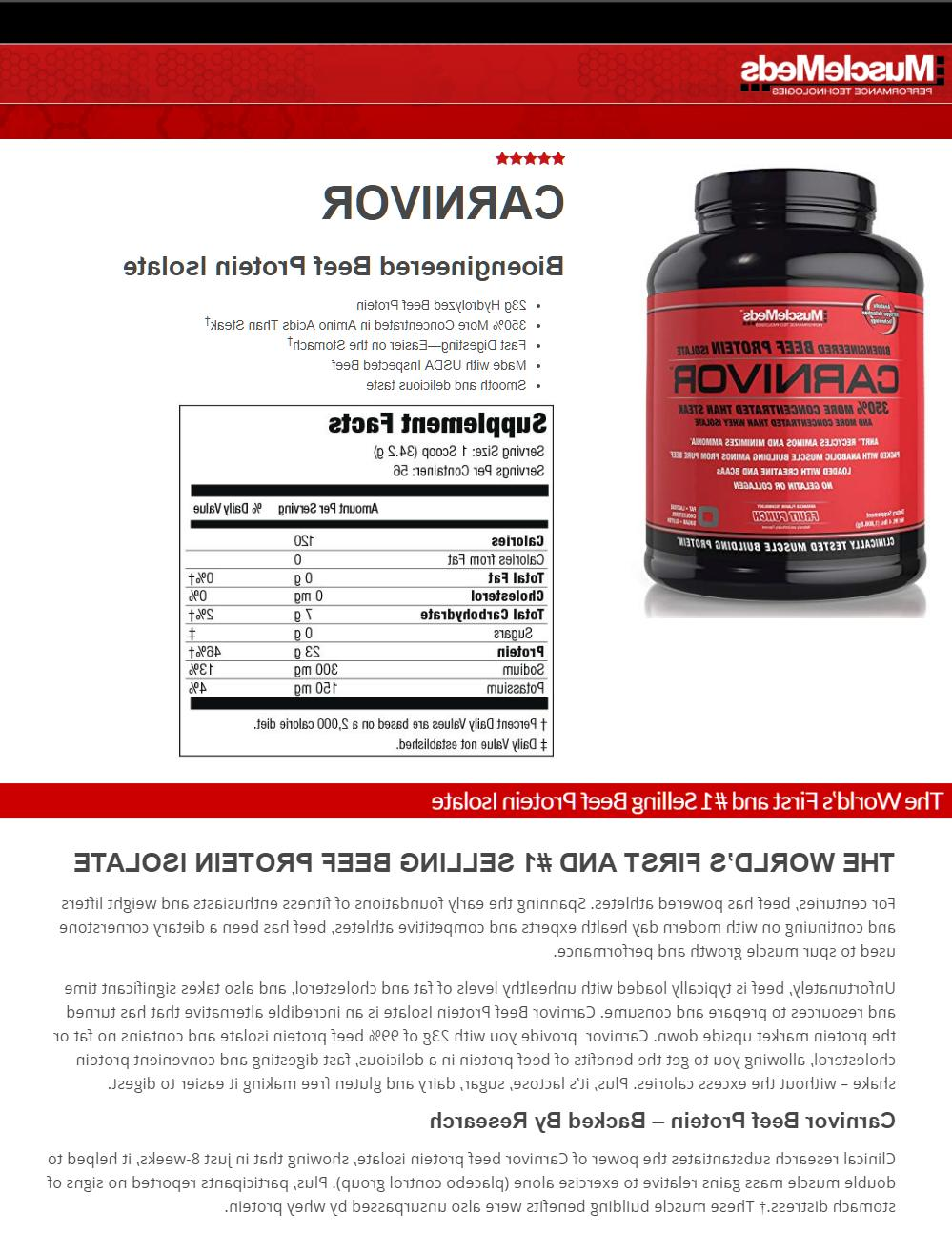 MuscleMeds Isolate Acids PICK FLAVOR