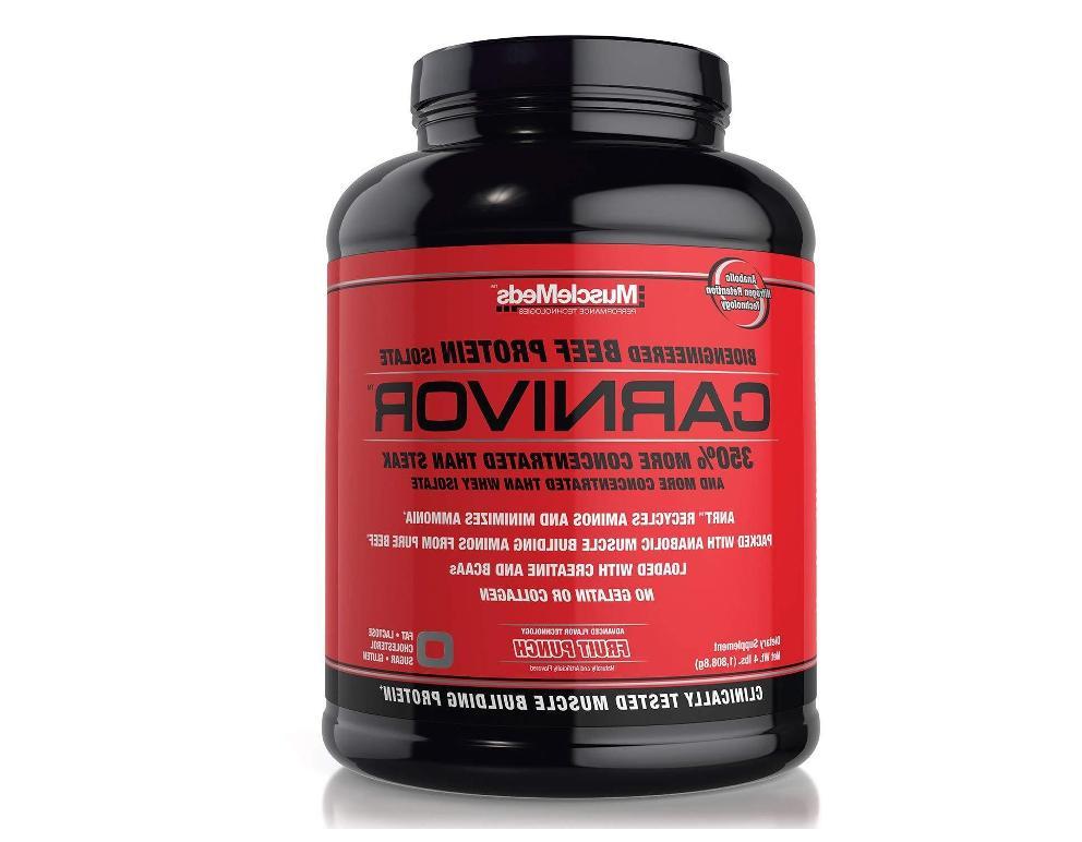 carnivor beef protein isolate amino acids creatine