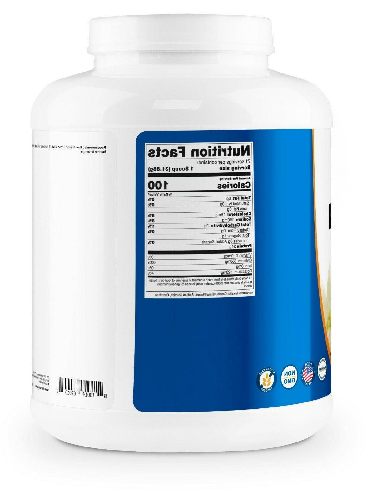 Nutricost Casein Protein Powder 5lb 100% Micellar Casein