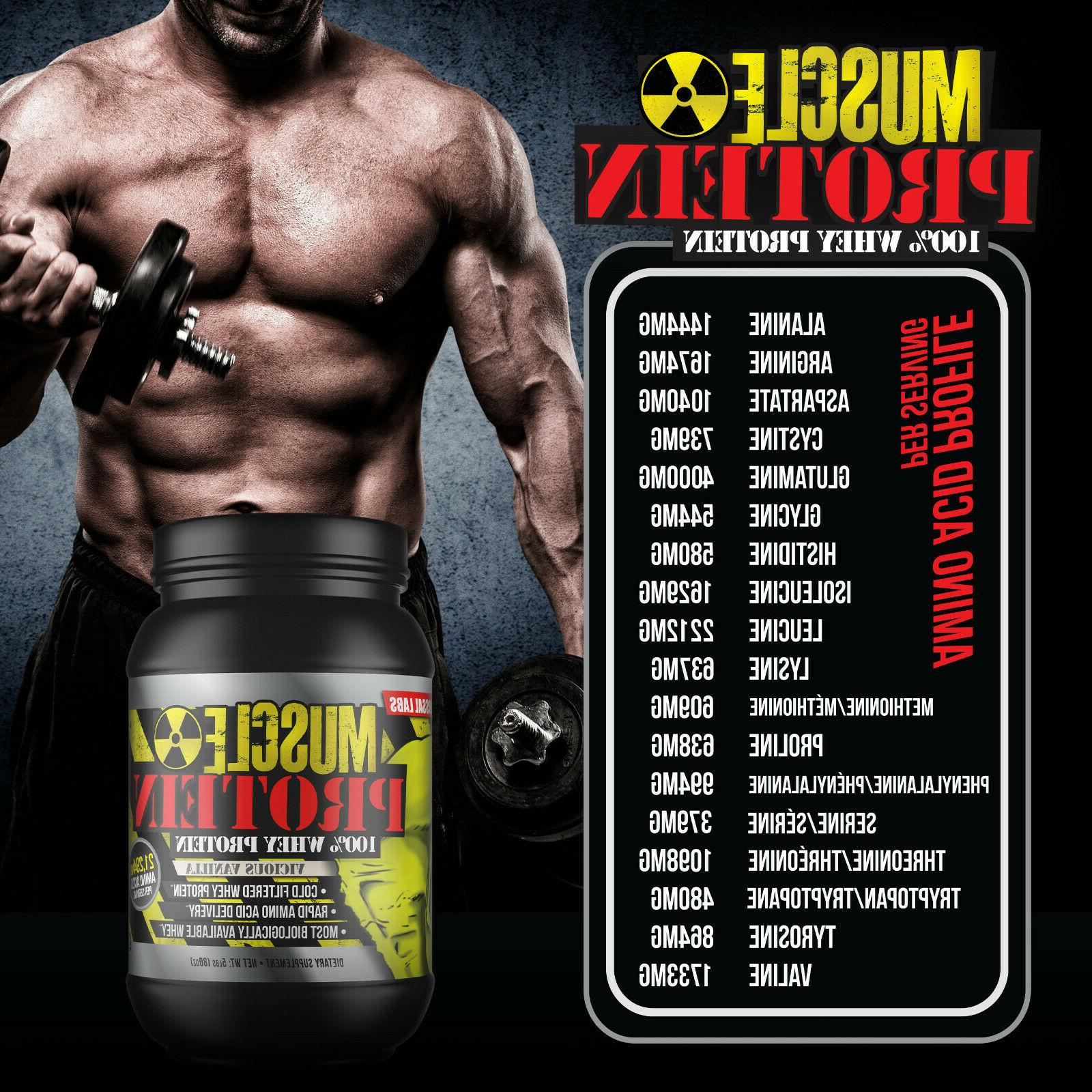 Colossal Protein Powder Muscle isolate/blend