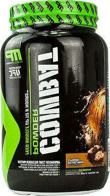 Muscle Pharm Combat Advanced Time Release Protein 2 lbs Free