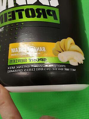MusclePharm Protein Banana 4LB exp-5/2022