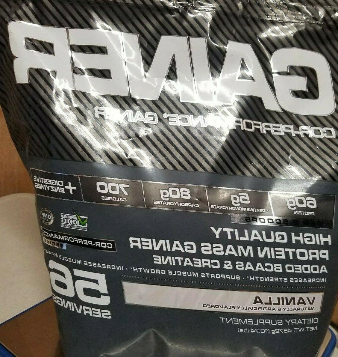Cellucor Gainer Quality Protein BCAA 10.74lbs 7/18