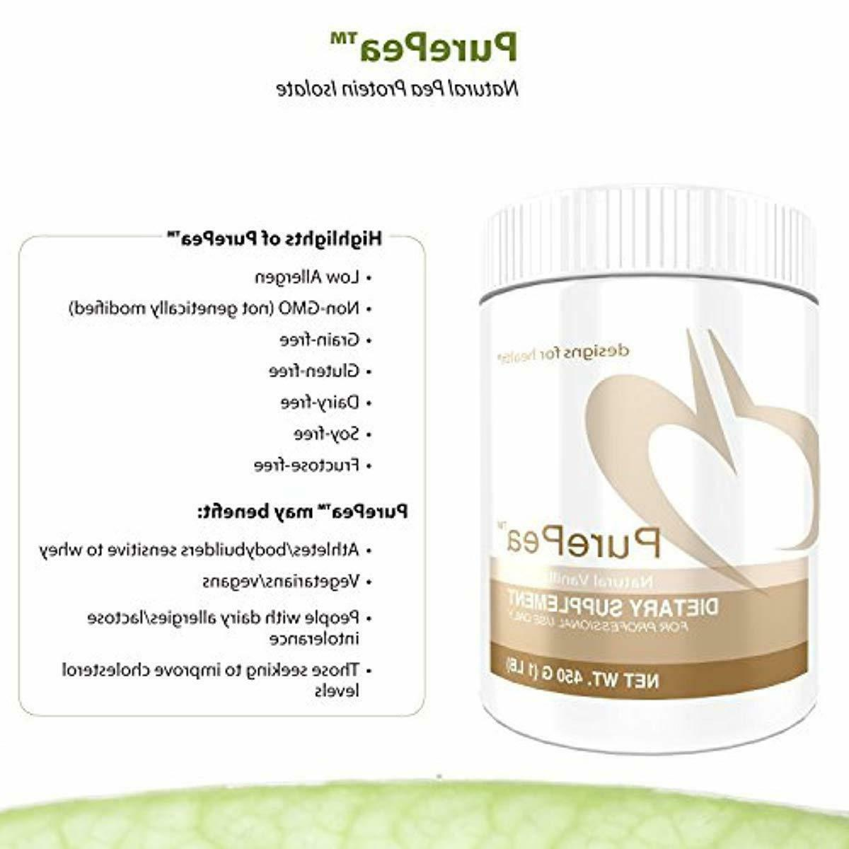 Designs Health - Vanilla Powder with Vegan