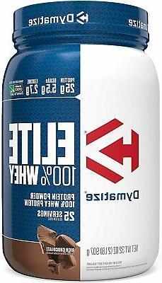 Dymatize ELITE 100% Whey Protein Powder 2 lbs - 25 Servings