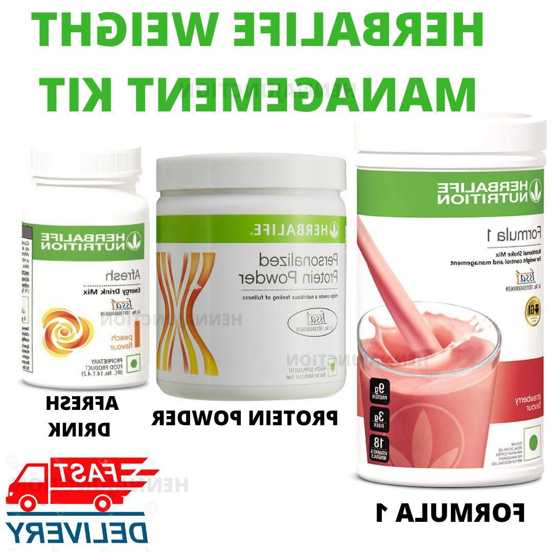 Herbalife Formula 1 Shake, Afresh Drink Herbal Tea, Protein