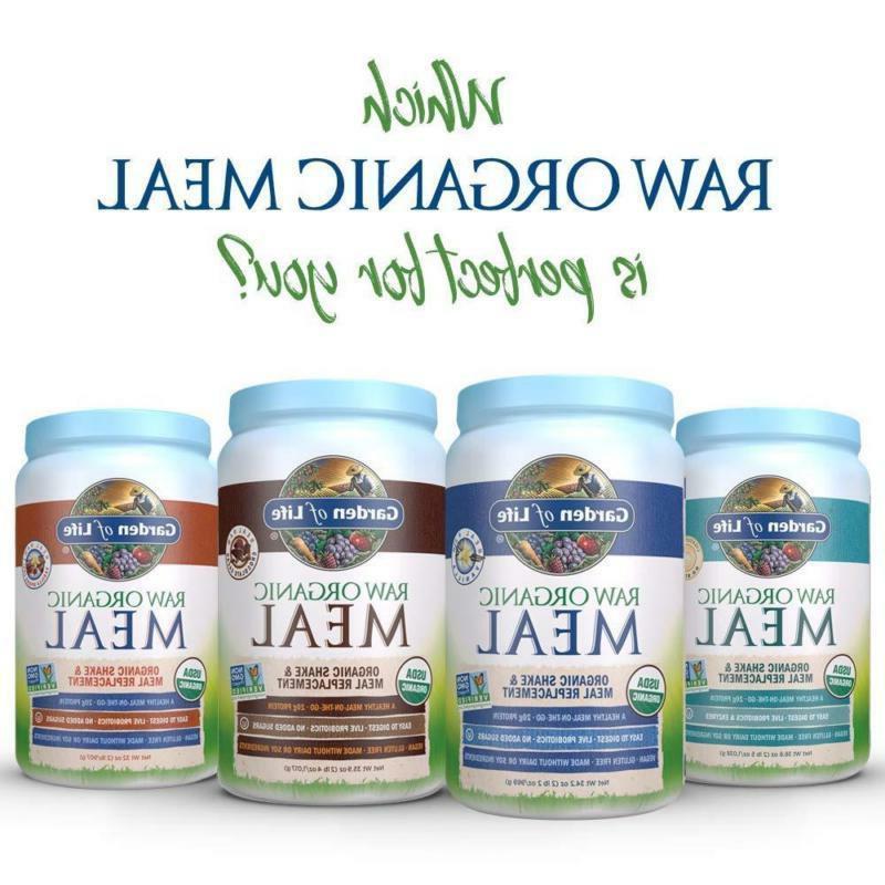 Garden of Life - Raw Plant Based Protein Powder, Vegan, G