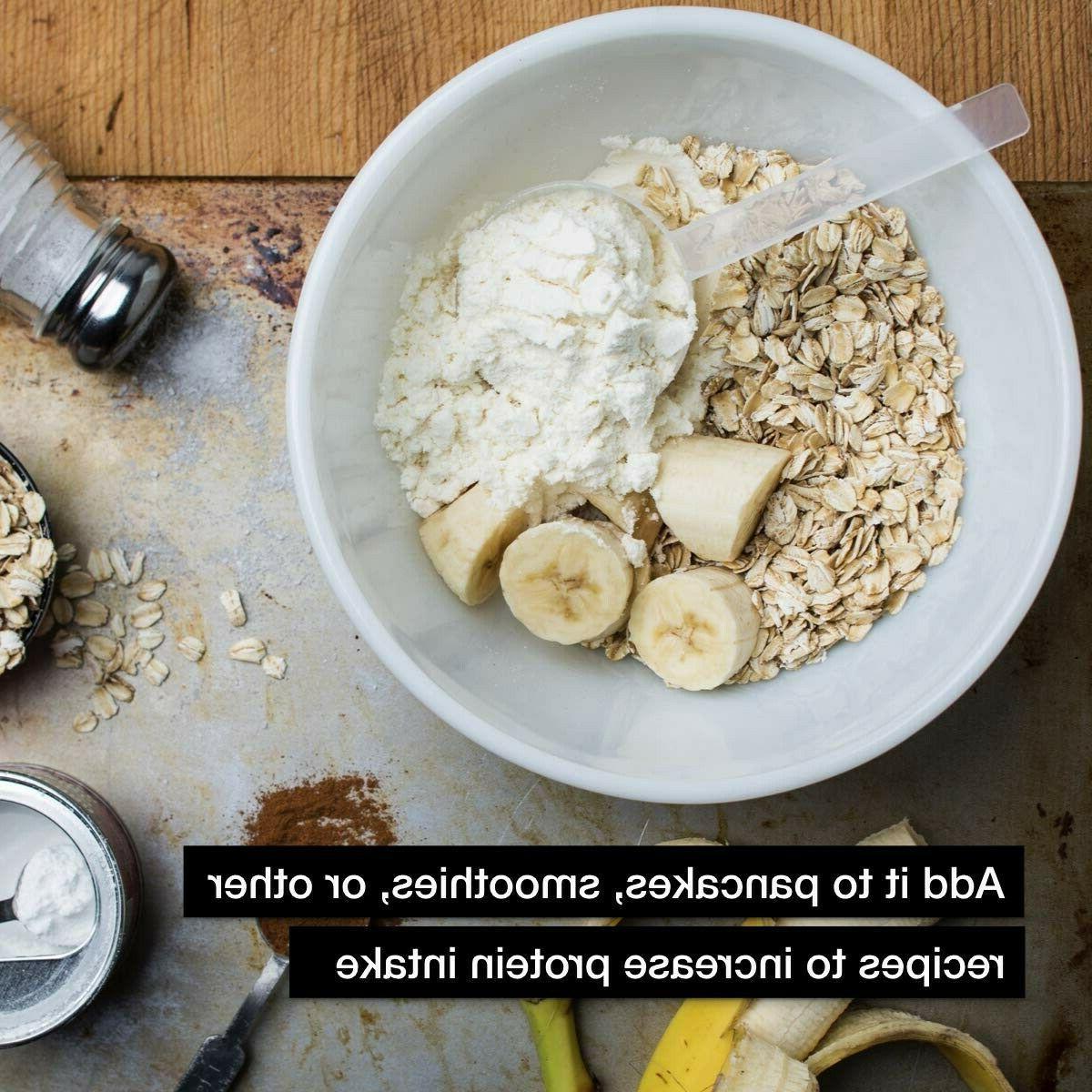 Muscle Genuine Powder, Banana Crème, 32g Protein, 4.94 Pound