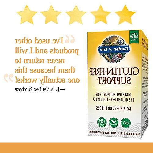 Garden Life Gluten Free Digestive Enzymes and Capsules