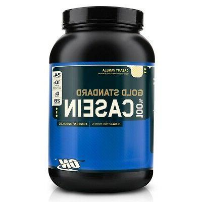 gold standard 100 percent casein protein bcaa