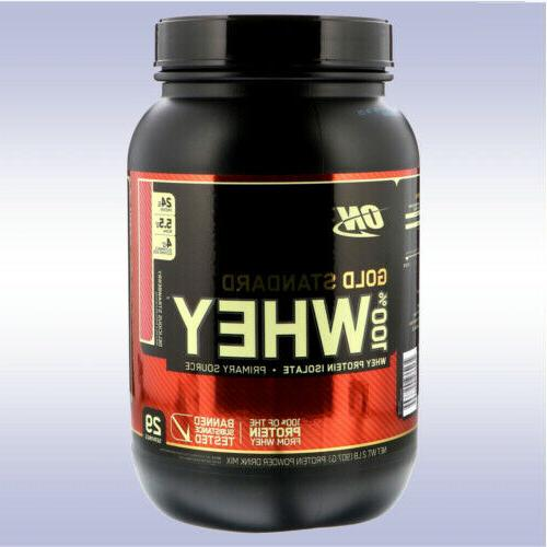 gold standard whey 2 lb protein isolate