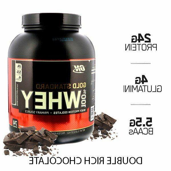 gold standard whey protein powder double rich