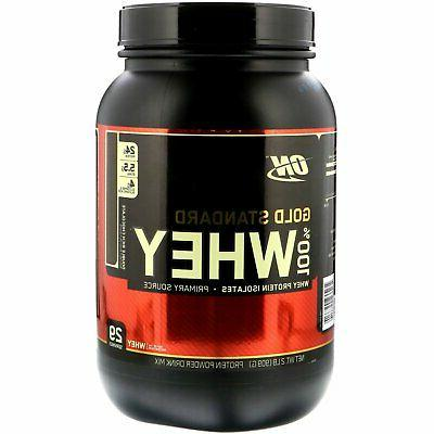 gold whey double rich chocolate