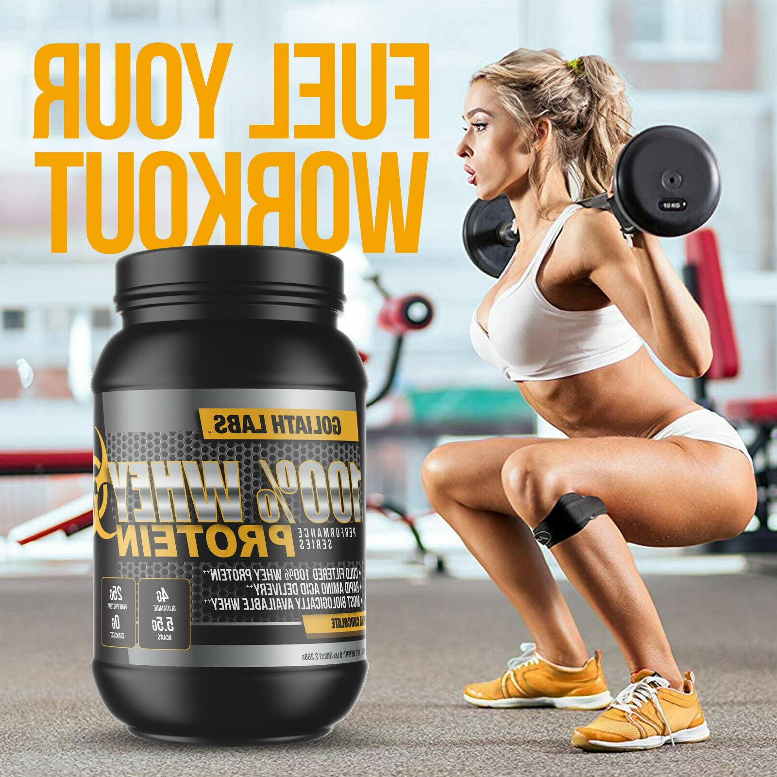 Goliath Labs Whey Protein protein servings