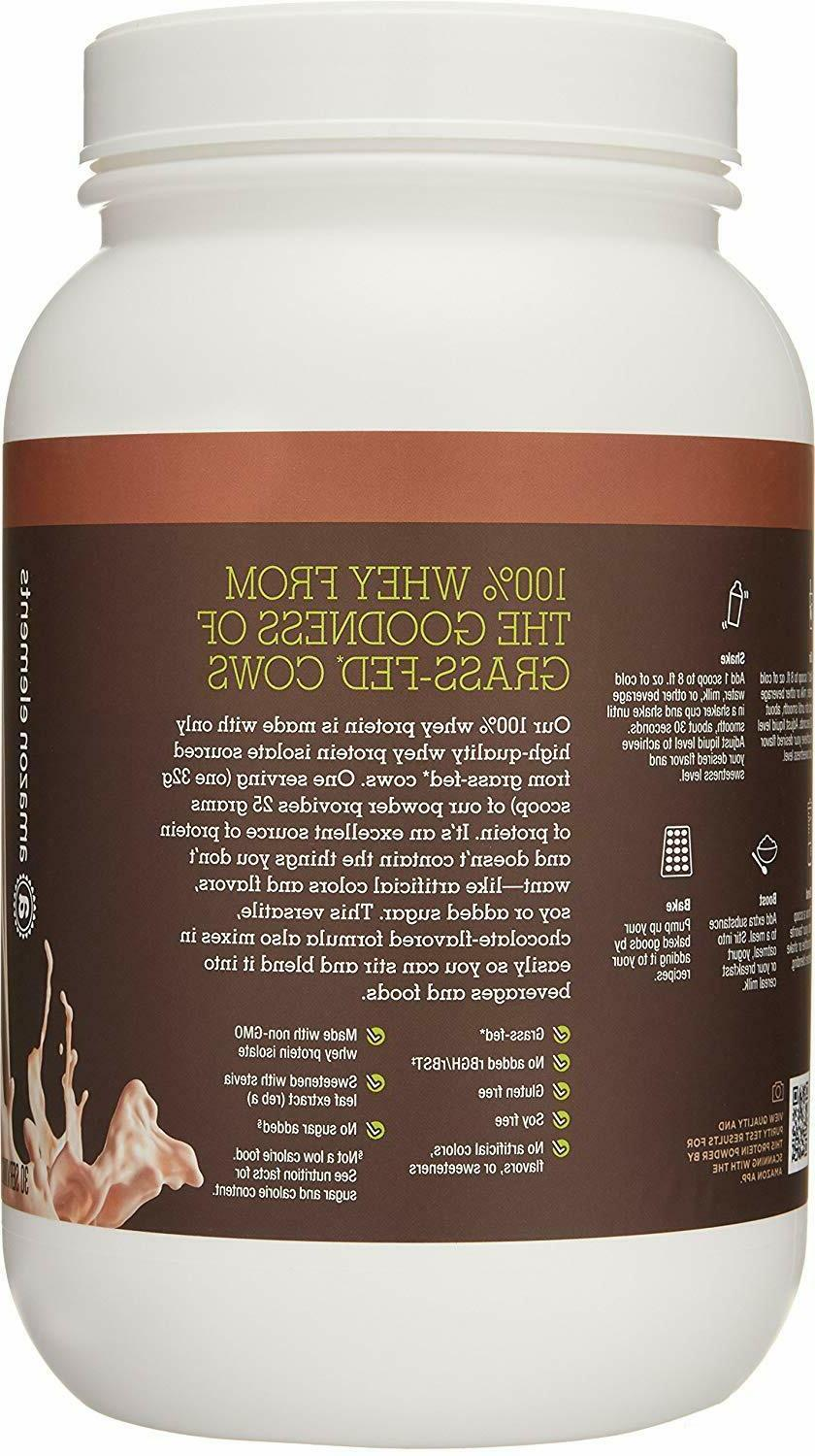 Isolate Powder,Natural Chocolate,2.11 Servings