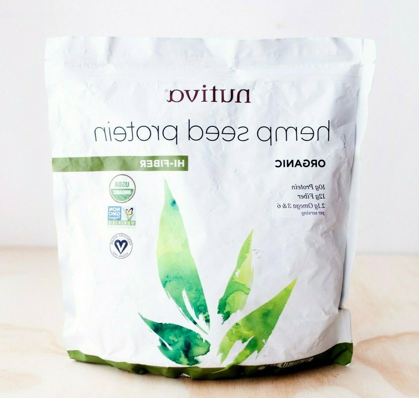 hemp protein plus fiber