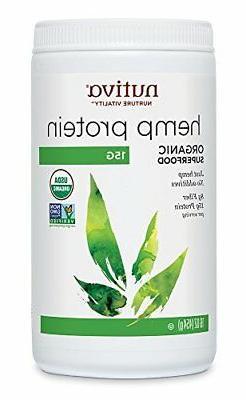 hemp protein powder organic 50 percent protein