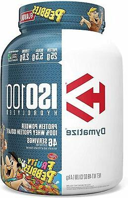 Dymatize Whey Protein 3 All Flavors US