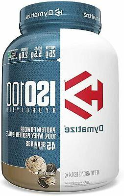 Dymatize ISO Whey Protein 3 lbs US