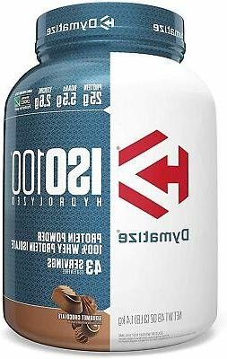 iso 100 hydrolyzed whey protein powder isolate