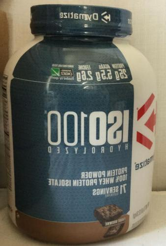 iso 100 whey protein powder