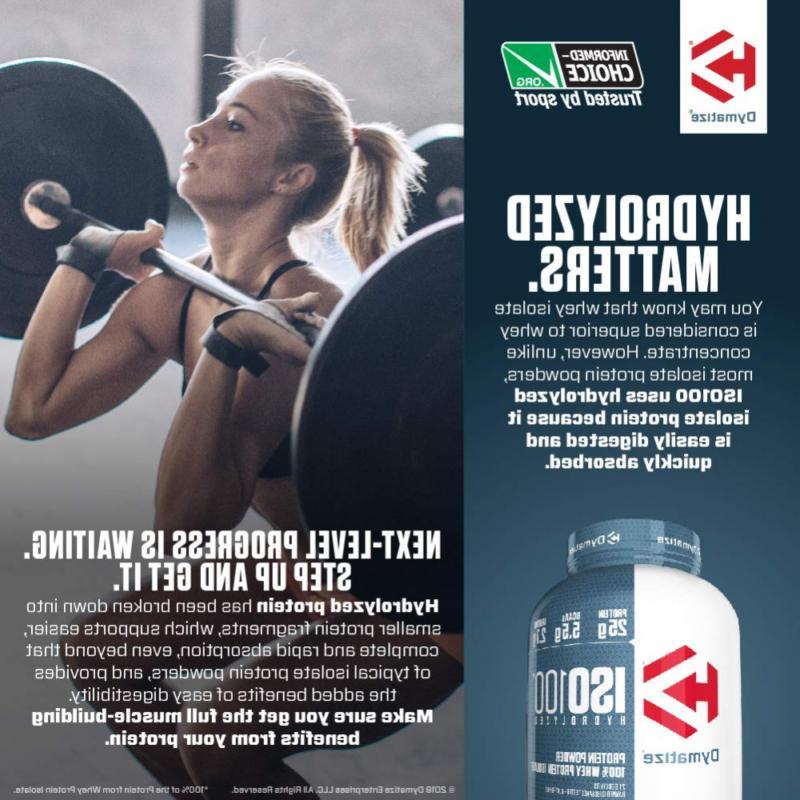 Dymatize ISO100 Powder, Whey 25g