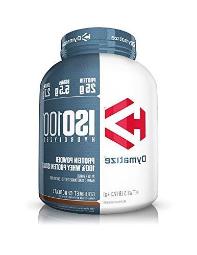 iso100 hydrolyzed protein powder 100 percent whey