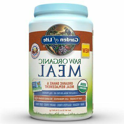 meal replacement organic raw plant based protein