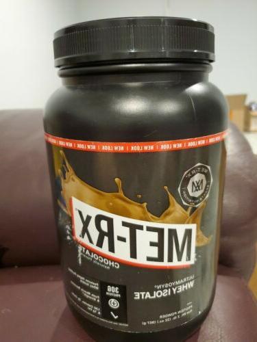 met rx ultramyosyn whey isolate protein powder