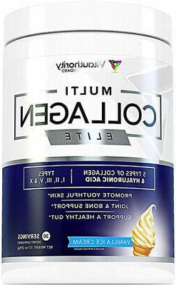 Multi Collagen Elite Vanilla Ice Cream Collagen Protein Powd