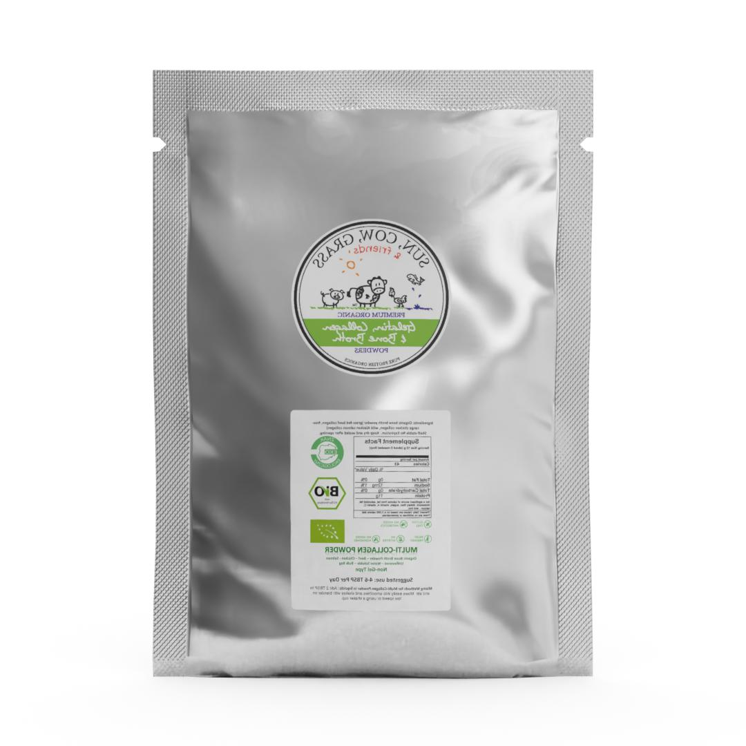 with - Pure Protein Organics