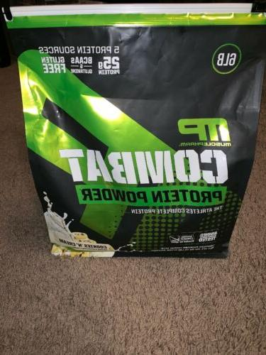 muscle pharm combat protein powder 6 pounds