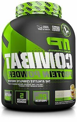 MusclePharm Combat Powder Advanced Time Release Protein, Coo