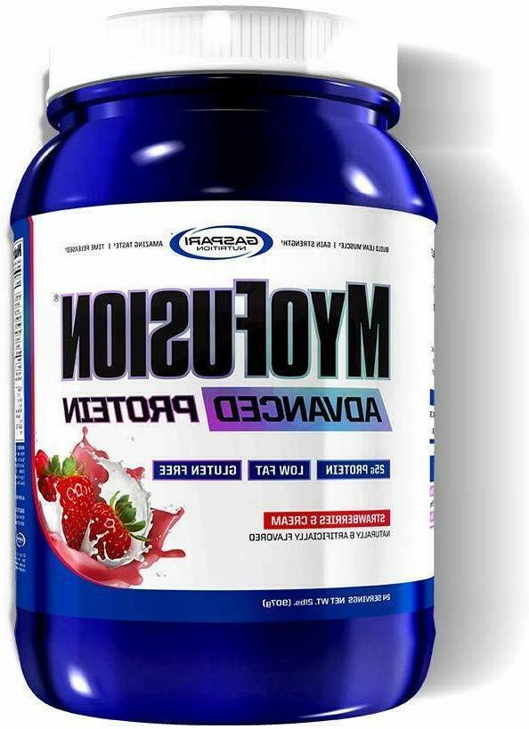 Gaspari Nutrition Myofusion Advanced Protein, Strawberries a