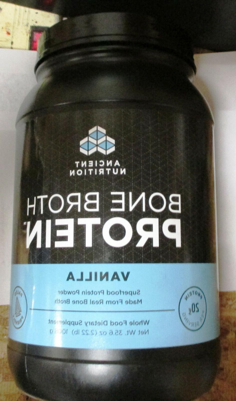 NEW Ancient Nutrition Bone Broth Protein Powder Choose Flavo