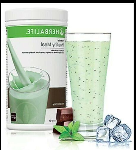 NEW FORMULA 1 HEALTHY MEAL SHAKE & PERSONALIZED