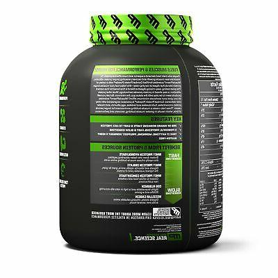 New MusclePharm Combat Powder Advanced Time Release Protein, Vanilla, Pound