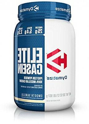 Dymatize Nutrition Elite Casein Vanilla 907g