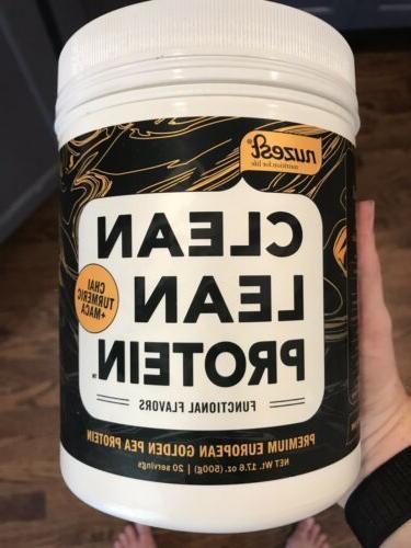 nuzest lean protein vegan protein powder 20