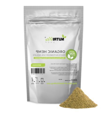 nvs 100 percent pure organic hemp protein