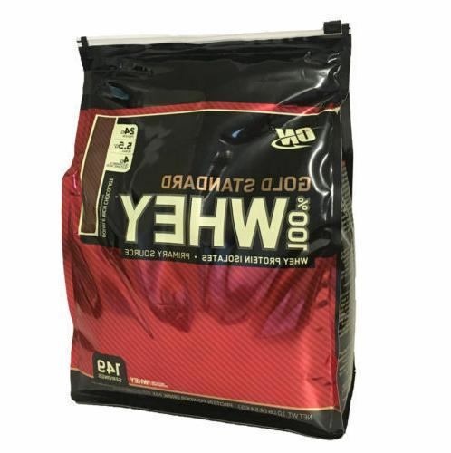 on 100 percent whey protein gold standard