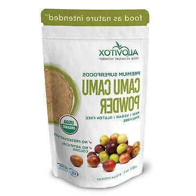 organic camu camu fruit powder natural vitamin