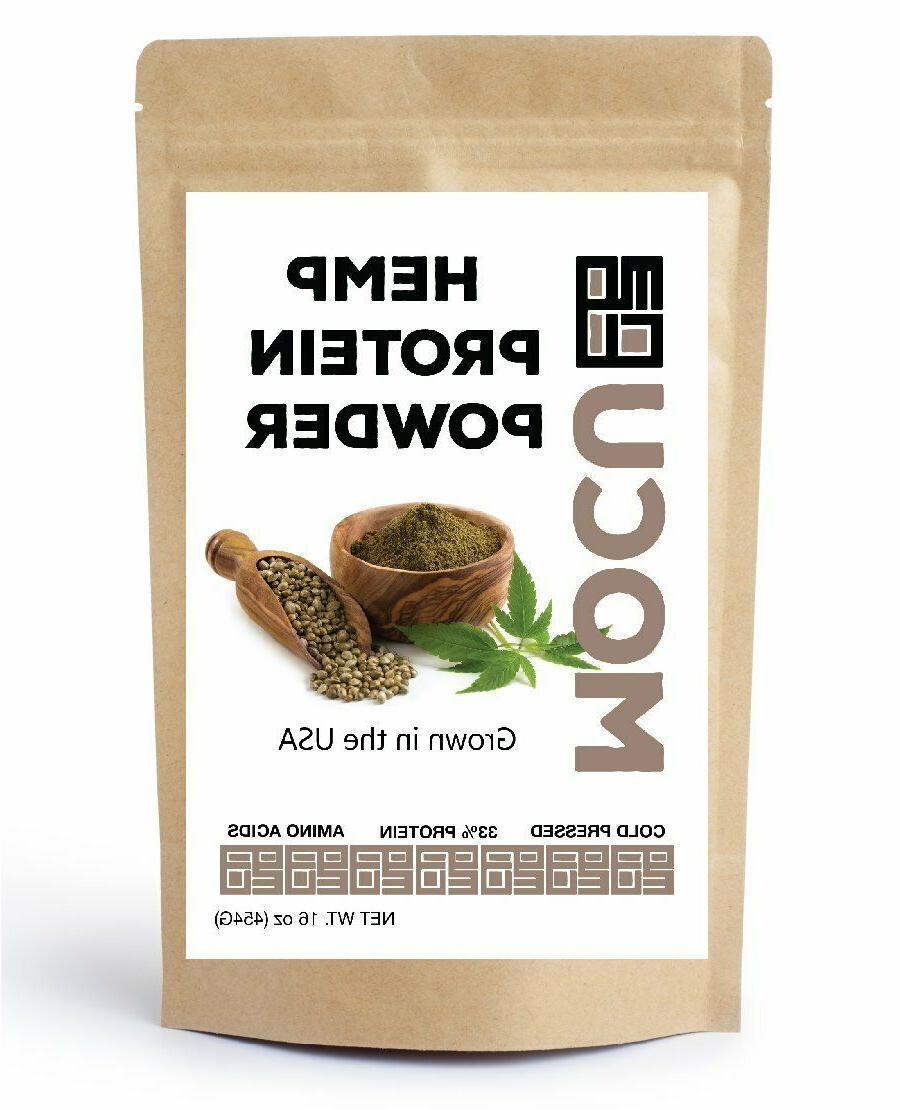 organic hemp protein powder 60 percent protein