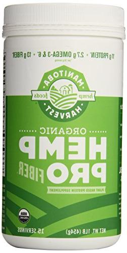 Manitoba Harvest Organic Hemp Pro Fiber Protein Supplement,