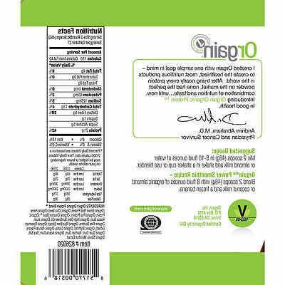 Orgain Organic Plant Protein lbs PICK FLAVOR - NEW